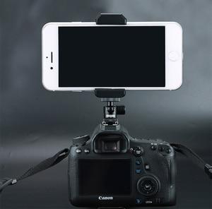 Image 5 - מצלמה מיני חצובה ballheads 360 תואר מתכוונן טלפון כדור ראש צילום וידאו 1/4 בורג מקרן ballheads selfie מקל