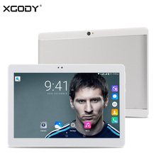 Buque de ee. uu ES FR XGODY T1005 Táctil Android 6.0 de la Tableta de 10.1 Pulgadas IPS 3G WiFi Phone Call Tablet PC SC7731 Quad Core 1 + 16G GPS niños