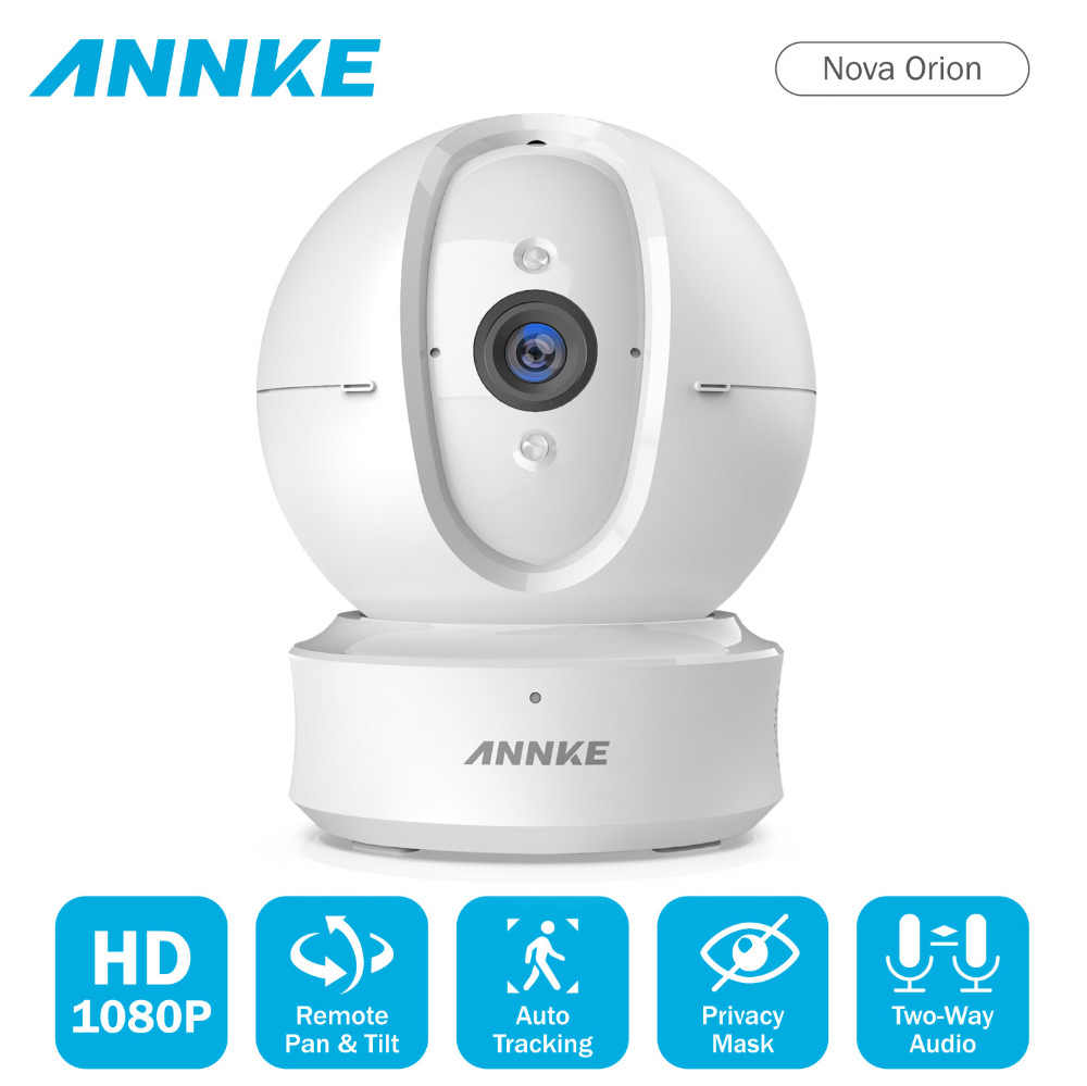 ANNKE 1080P IP Camera Wireless Wifi Home Security IP Camera Two-Way Audio Motion Surveillance Camera Night Vision Baby Monitor