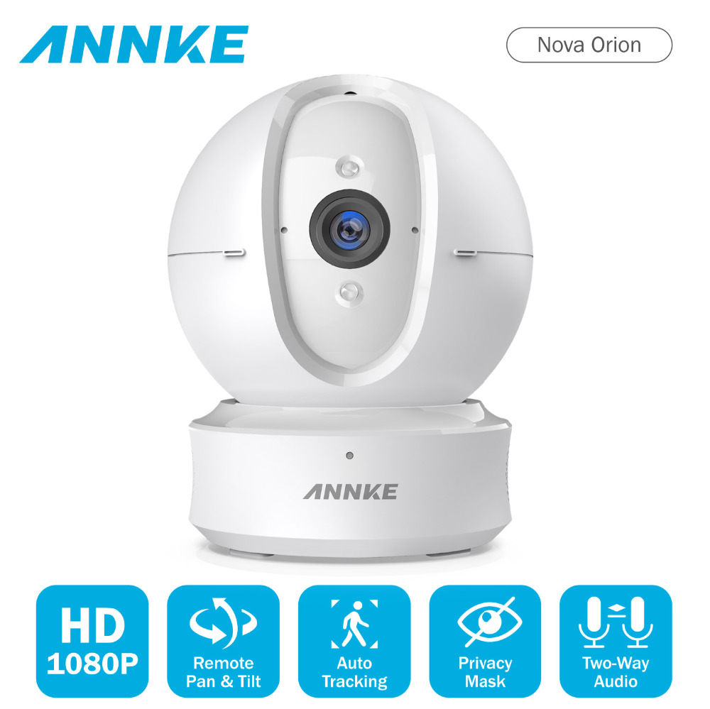 ANNKE 1080P IP Camera Wireless Wifi Home Security IP Camera Two-Way Audio Motion Surveillance Camera Night Vision Baby MonitorANNKE 1080P IP Camera Wireless Wifi Home Security IP Camera Two-Way Audio Motion Surveillance Camera Night Vision Baby Monitor