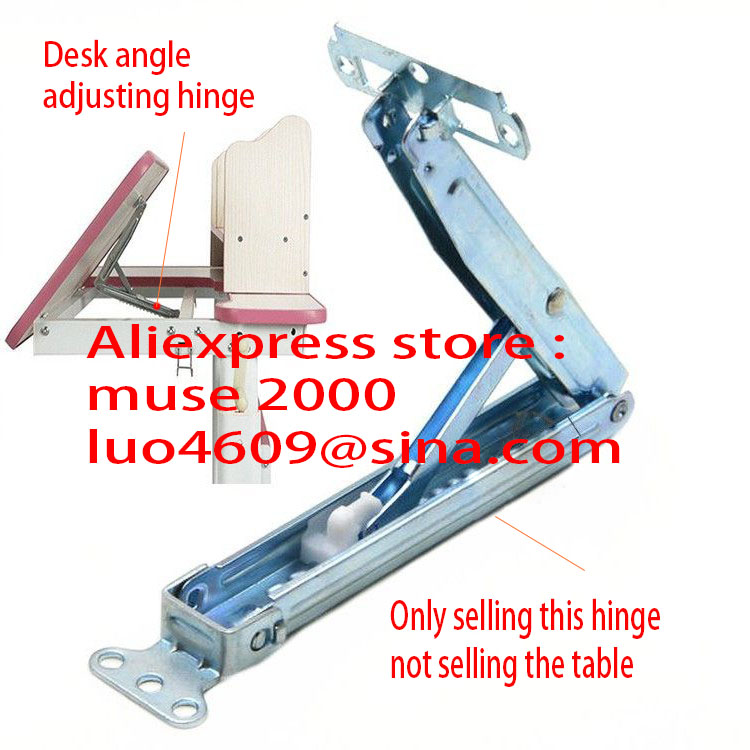 12 gears angle hinge connecter Drawing desk leaning Tilt