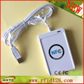 PC-linked  Contactless Smart NFC IC Card Reader and Writer 13.56MHZ RF ACR122U Support all four types of NFC tags Free Shipping