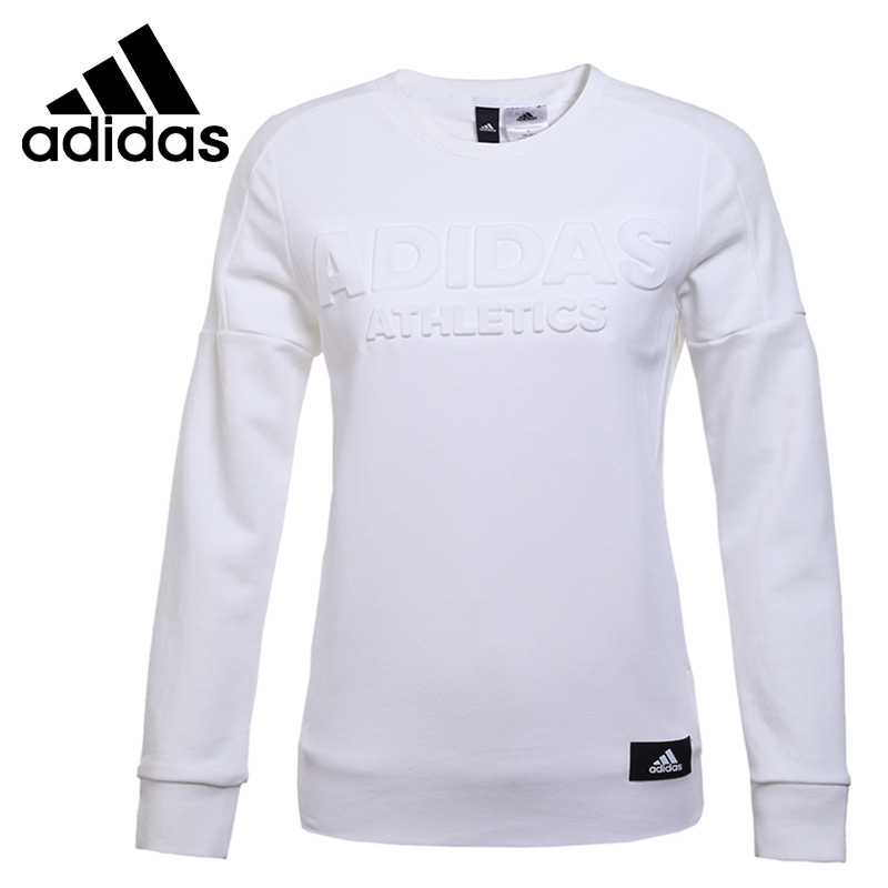 Original New Arrival 2017 Adidas CREW LS Women's Pullover Jerseys Sportswear original new arrival official adidas neo men s breathable o neck pullover jerseys sportswear