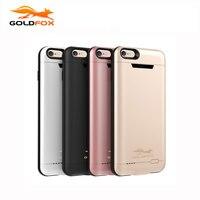 GOLDFOX 3000/4200 mAh Battery Charger Case Cho iPhone 6 6 s Cộng Với Trường Hợp Pin bên ngoài Powerbank Điện Thoại Di Động Case cho iphone 6 6 s