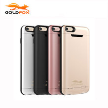 GOLDFOX 3000/4200mAh Battery Charger Case For iPhone 6 6s Plus External Battery Case Mobile Phone Powerbank Case for iphone 6 6s