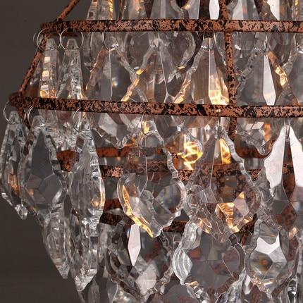 Crystal Hanglamp Moderne Lamp Cluster Verlichting Loft Lampen Lumi ...