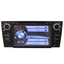 Touch screen Car radio Entertainment System DVD Player for New 3 Series E90 E91 E92 With GPS Navigation car steer wheel control