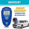 Allsun-sol EM2271 EM2271A Digital Mini automóvil espesor pintura de coche de espesor de revestimiento de barco de Rusia
