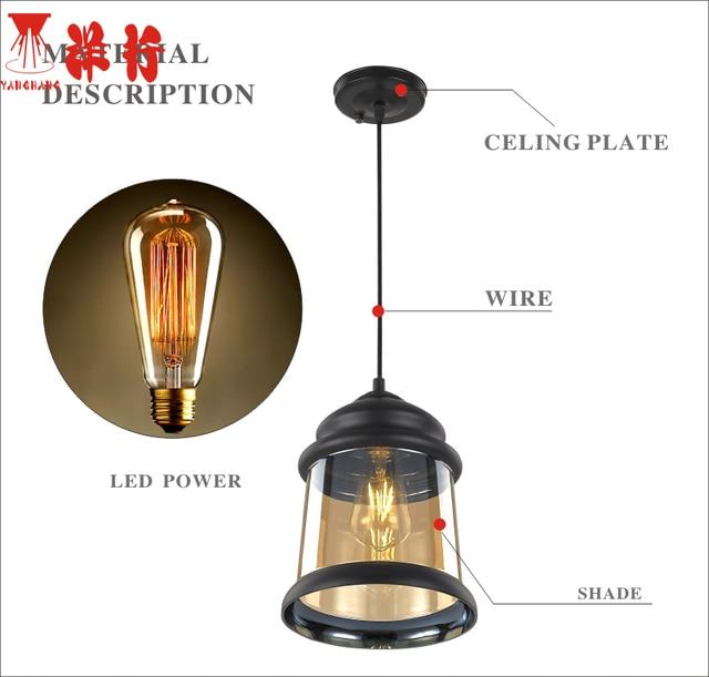 Kemasi moderna bola de cristal colgante luces mundo pantalla lámpara ...