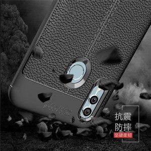 "Чехол wolfrole Huawei Honor 10 Lite, ударопрочный роскошный кожаный мягкий чехол из ТПУ для Huawei P Smart, 2019 / Honor 10 Lite 6,21"""