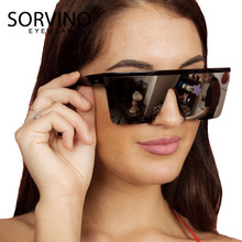 SORVINO Shades Men Rimless Square Sunglasses Women 2020 Luxury Brand