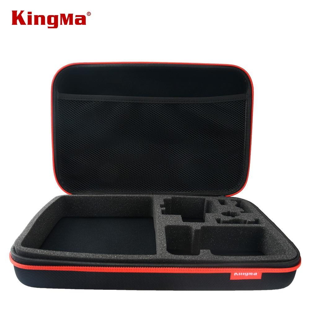 KingMa For Gopro 큰 가방 for Gopro Hero 4 / 3 + Hero3 Hero2 SJ4000 SJ5000 Go Pro 컬렉션 가방 액세서리 블랙
