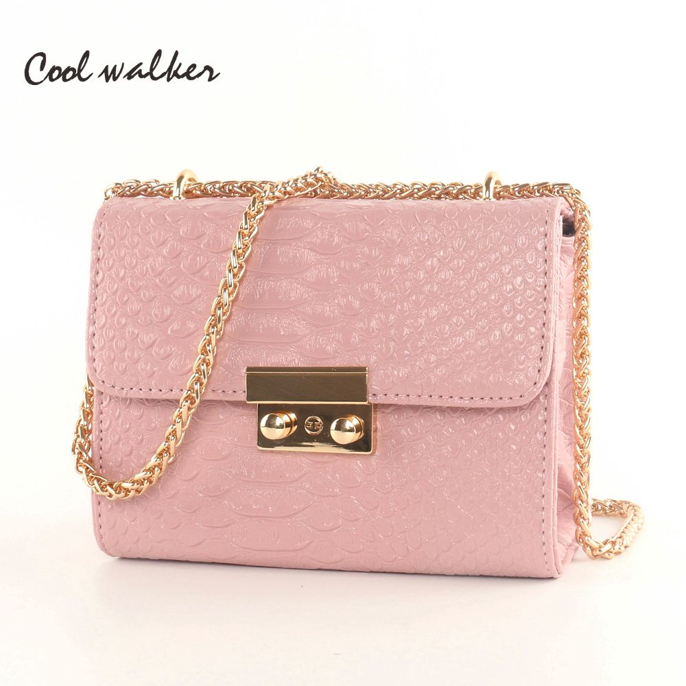 COOI WAIKER bags famous brand women bags 2016 messenger bag fashion mini Small bags chain ladies shoulder purse and handbags купить