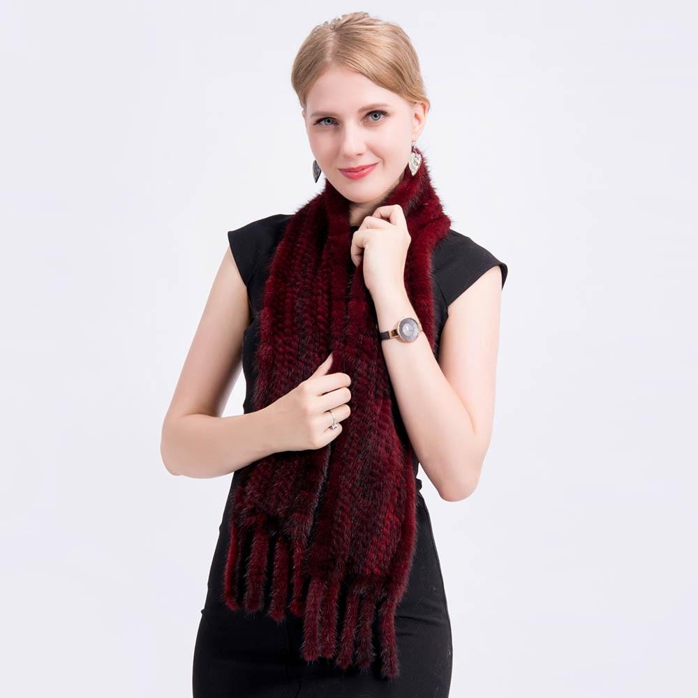 mink fur scarf 2