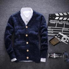 Youth men's men sweater cardigan coat