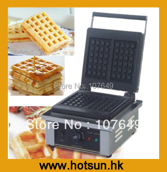 Commercial Non-stick 110V 220V Electric Belgian Liege Waffle Iron Baker Maker Machine 110v 220v electric belgian liege waffle baker maker machine iron page 2