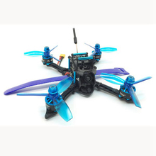 HGLRC XJB-145MM 72CH 5.8G FPV Racing Drone PNP With Omnibus F4 28A 2-4S Blheli_S ESC 25/100/250mW Switchable VTX Camera Drone