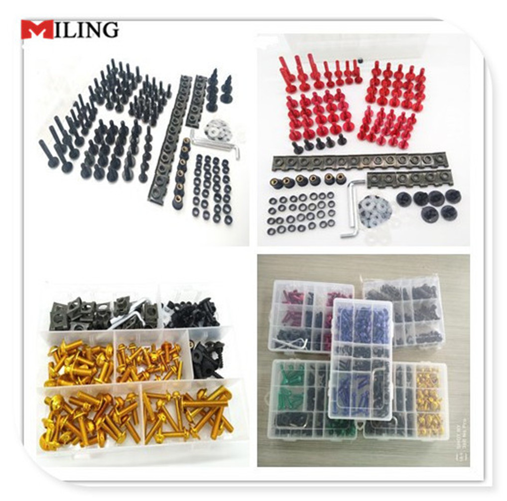 Motorcycle motorbike Screws Pike Bolts nuts Fairing FOR Kawasaki Z1000 ZX10R ZX12R ZX6R ZX636R ZX6RR ZX9R ZX10R motorcycle handlebars clip on for kawasaki zx6r 600cc zx9r 900cc 1998 2002 page 2