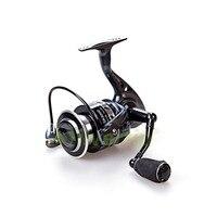Free Shipping 13 1 BB Spinning Fishing Reel CNC Machined Handle EVA Knob SK Reels Yumoshi