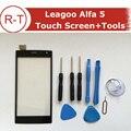 100% Original Leagoo Alfa 5 Tela Sensível Ao Toque de Substituição do painel de toque Com Ferramentas de Alta Qualidade Para Leagoo Alfa 5 Celular