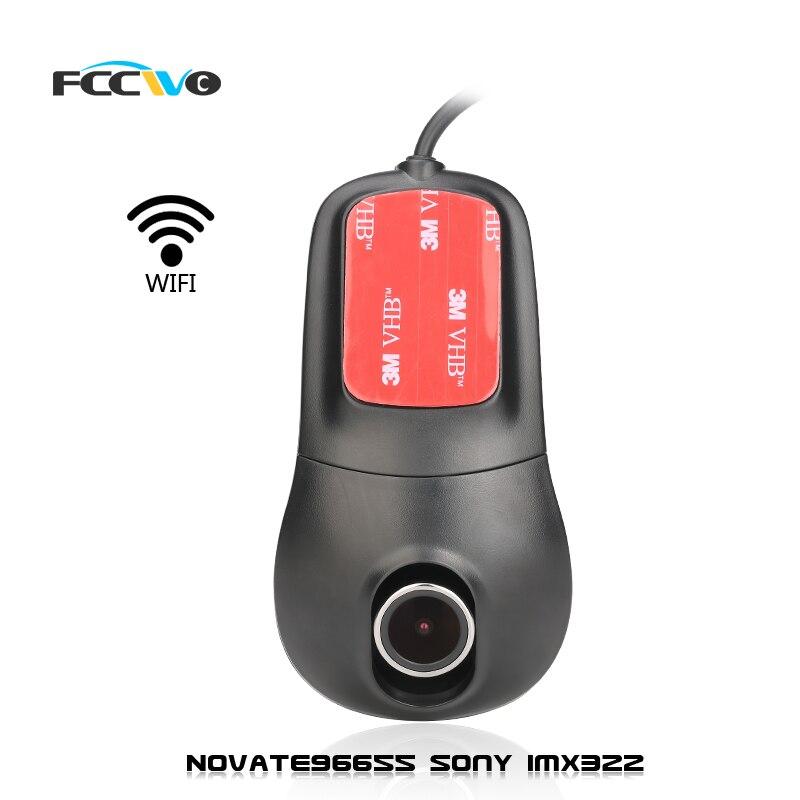 imágenes para FCCWO R2 Novatek96655 Sony IMX322 WiFi 1080 P Del Coche DVR Dash Cam Video Recorder Registrador automático cámara Dashcam dvr Dash Cam