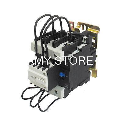 CJ19-80 Ui 500V 220V Coil 80A Pole 1NO Changeover Capacitor AC Contactor