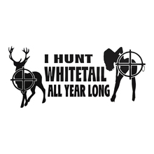 Hunting Buck of Decal Hunting Club Girl Sticker Hollow Sticker Hunter Window Car Vinyl Decal Funny Poster Motorcycle pegatina hunt forest reindeer decal hunting club buck sticker hollow sticker hunter car window vinyl decal poster motorcycle