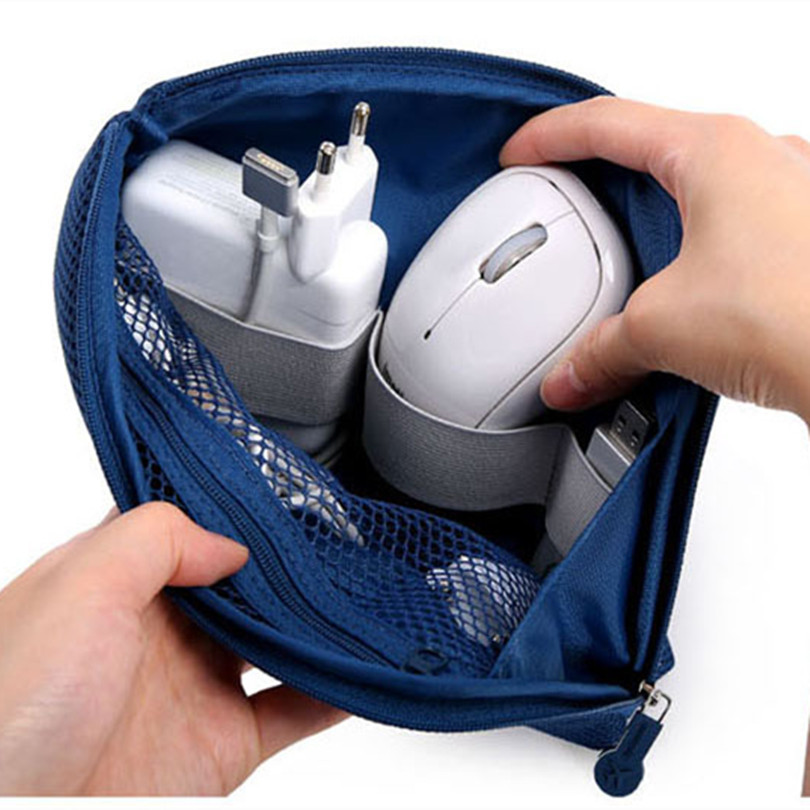 Wire-Holder Charger Organizer Earphone Storage-Bag Boxes Cord-Wrap Data-Cable Neatening