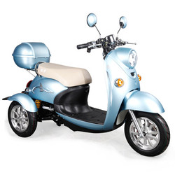 Drei Rad Elektrische Roller Multicolor Mode Umweltschutz Dreirad für Erwachsene Handandicapped Roller Motorrad