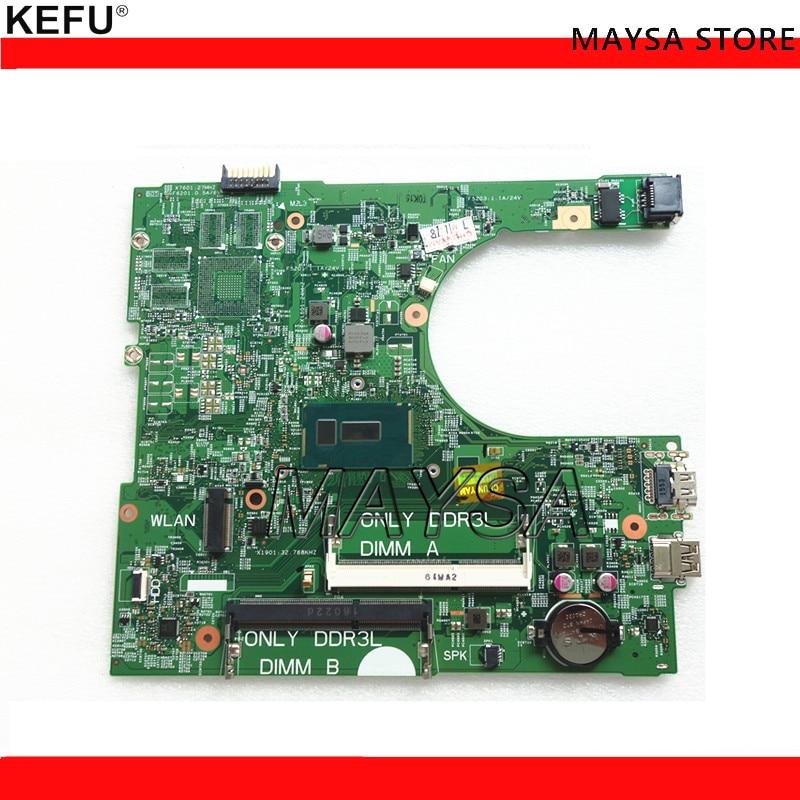 CN-0RTK20 RTK20 Fit For Dell Inspiron 3458 3558 Laptop Motherboard 14216-1 PWB:1XVKN REV:A00 SR24B 3825U mainboard NOTEBOOK PCCN-0RTK20 RTK20 Fit For Dell Inspiron 3458 3558 Laptop Motherboard 14216-1 PWB:1XVKN REV:A00 SR24B 3825U mainboard NOTEBOOK PC