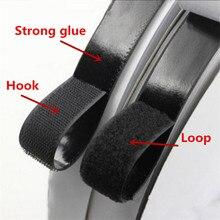 2M*2cm/Pairs Black White Magic Tape Hook Doors Clothing Windows Fastener Nylon Sticker Self Adhesive Disks 3MTape