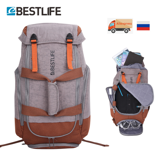 7137b734a076 Large Capacity Explorer Mountaineering Rucksack Bag Canvas Luggage Travel  Bags Waterproof Laptop Backpack For Men Women Teenager