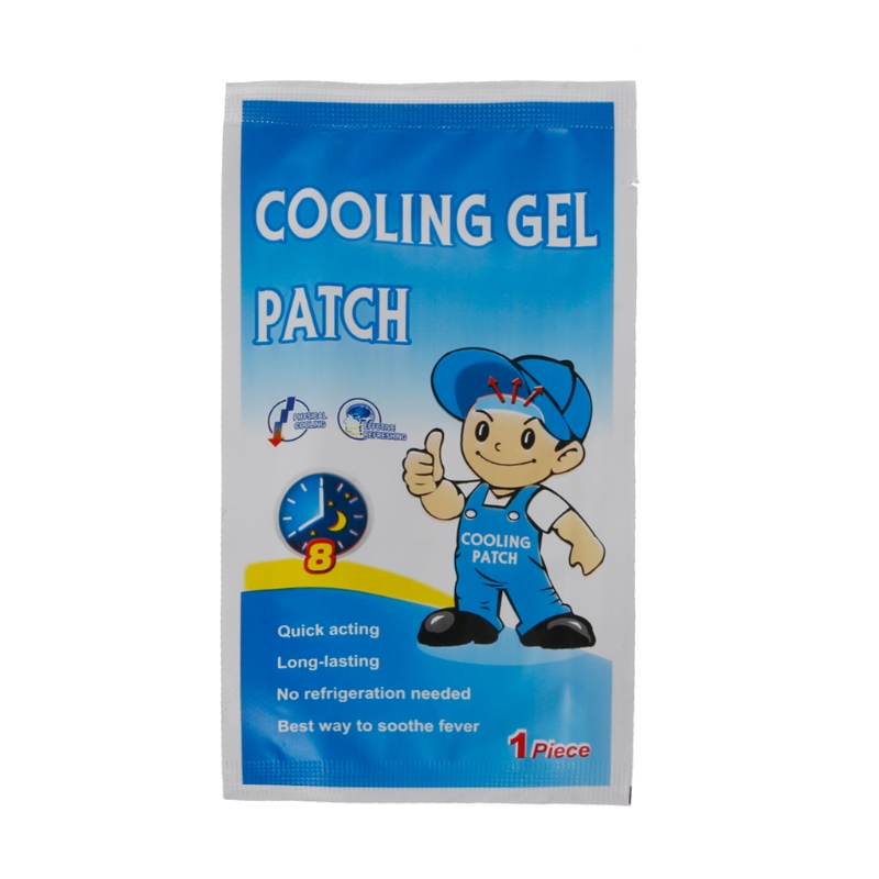 Top Quality Baby Kids Medical Grade Hydrogel Fever Reducing Pain Relief Cooling Patch image