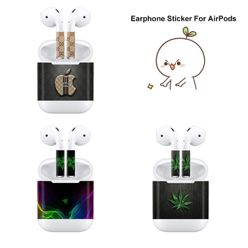 Luxury Beautiful Decals For Apple AirPods Skins Stickers With High Quality protectores de cargador iphone