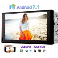 Android 7 1 Octa Core 2GB 32GB Car Radio Stereo 7 Double Din Head Unit No