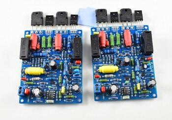 Nobsound 2 pièces QUAD405 125 W + 125 W HIFI amplificateur de puissance carte Amp kit de bricolage double canal 2.0