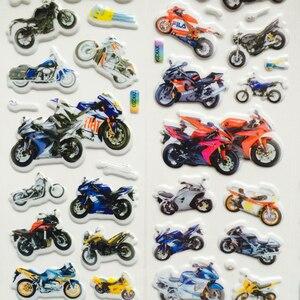 Image 3 - Autocollants à bulles 3D, étiquette voiture, moto, étiquette Scrapbook pour ordinateur portable et téléphone portable pour enfants, 10 pièces/lot