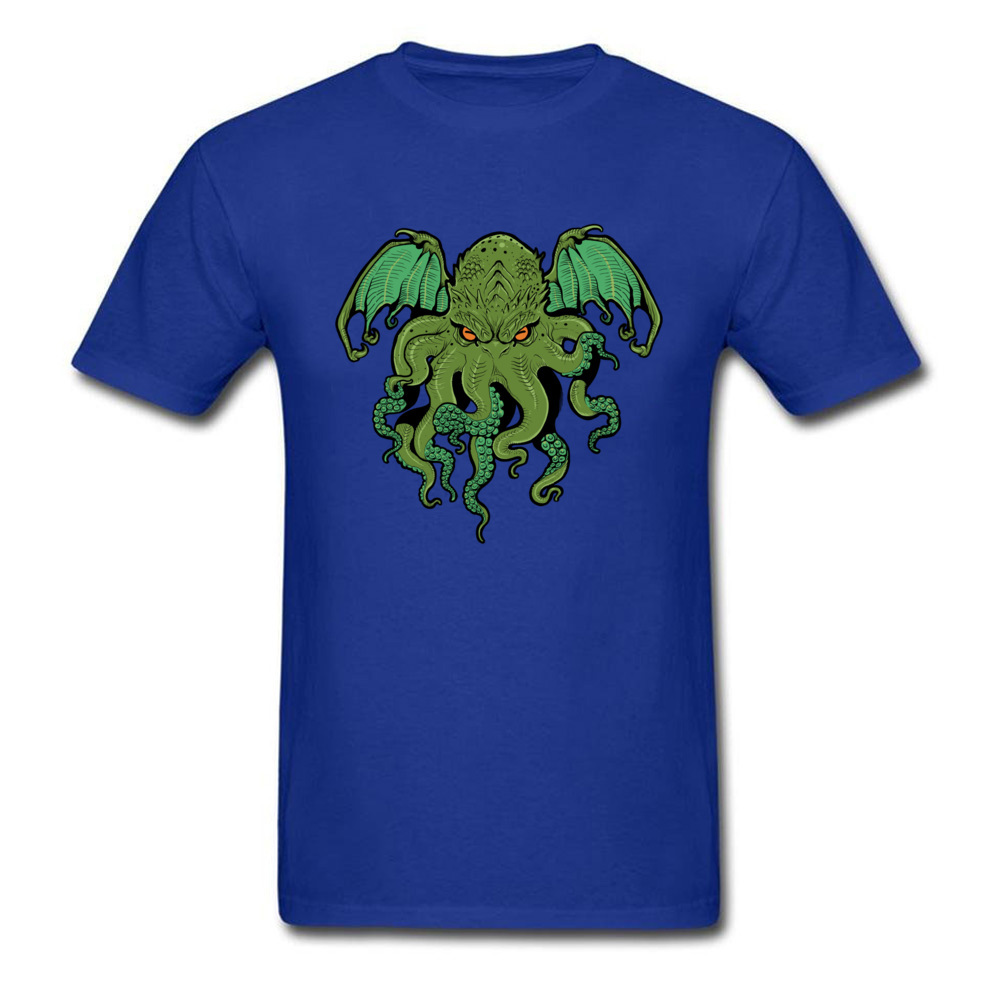 cthulhu 10992 Design ostern Day 100% Cotton Round Collar Mens Tees Summer Tee Shirt Family Short Sleeve T Shirts cthulhu 10992 blue