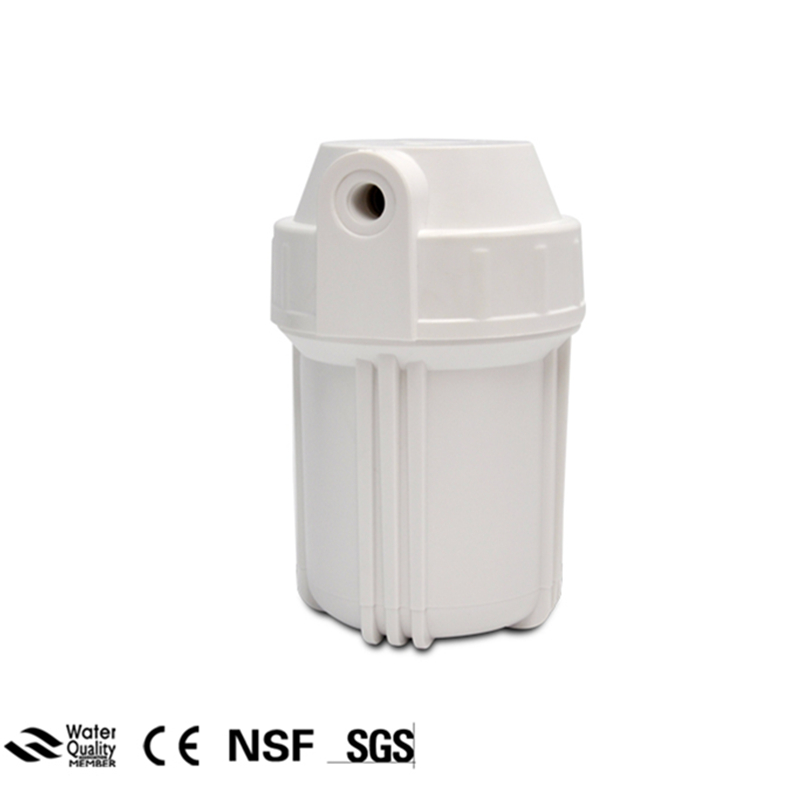 5 ( Inch) Water Filter Housing 1/2 NPT For Water Purifying Machine Reverse Osmosis System Slim Water Filter Bottle Cartridge