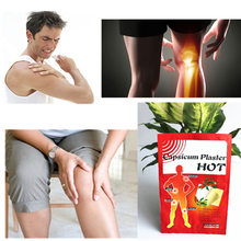 50bags 12x18cm Hot Capsicum Pain Relief Patch Body Massage Meridians Stress Arthritis Chinese Herbal Medical Plaster