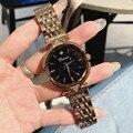 Роскошные Брендовые женские часы  модные женские часы розового золота  женские повседневные часы  женские часы с звездным лицом  Часы montre ...