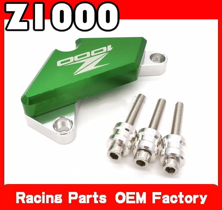 green bike fall protection cnc engine guard z1000r cover paratelaio crash protector for kawasaki z1000 2010 2011 2012 bjmoto cnc aluminum motorbike accessaries motorcycle engine guard cover pad for kawasaki z1000 r 2010 2011 2012