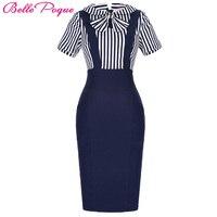 Fashion Pencil Summer Women Dress Retro 50s 60s Vintage Dresses Office Party Swing Gowns Vestidos Pinup