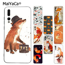 MaiYaCa Sly fox Topmost Cool Phone Accessories Case for Huawei P9 10 plus 20 pro mate9 10 lite honor 10 view10 Cover(China)