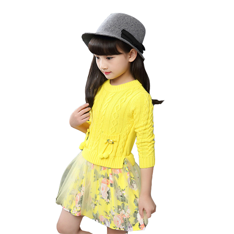 Spring girls dress mesh clothes childrens Clothes Girls long sleeve Party Dress kids 5 8 10 years old girl clothing autumn baby humor bear baby girl clothes new spring and autumn long sleeve t shirt pink princess dress kids clothes girls clothing