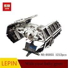 DHL EMPATE avançou LEPIN 05055 Estrelas 1212 Pcs Brinquedo Guerras Vader Kit Modelo de Construção Blocos Tijolos Crianças Compatíveis 10175