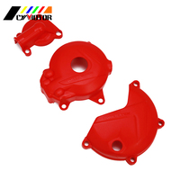 Motorcycle Magneto Engine Clutch Water Pumb Protective Cover For ZONGSHEN NC250 250 KAYO T6 K6 BSE J5 RX3 ZS250GY 3