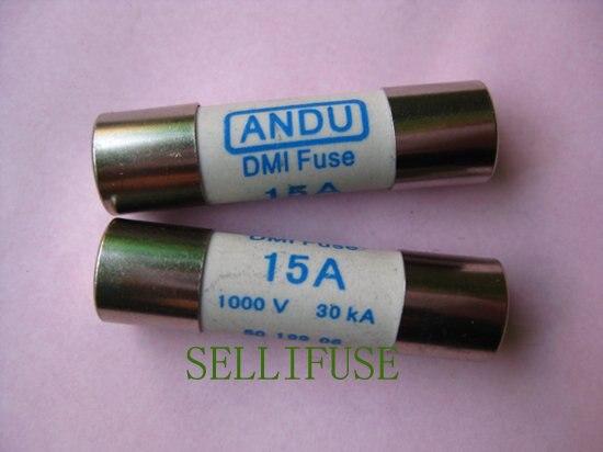10x38 мм 15A1000V предохранитель DMI для цифровые измерительные приборы 5019906 CE Cetificated
