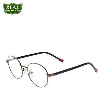 Metal frame Computer Glasses Optical Prescription Circular For kids Children eyeglasses  Myopia girl boy glasses