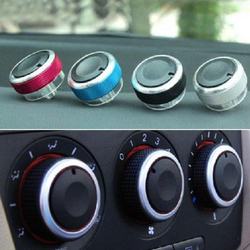 3pcs/set Air Conditioning heat control Switch knob AC Knob For Ford Focus 2 MK2 Focus 3 MK3 Sedan Hatchback Mondeo car styling